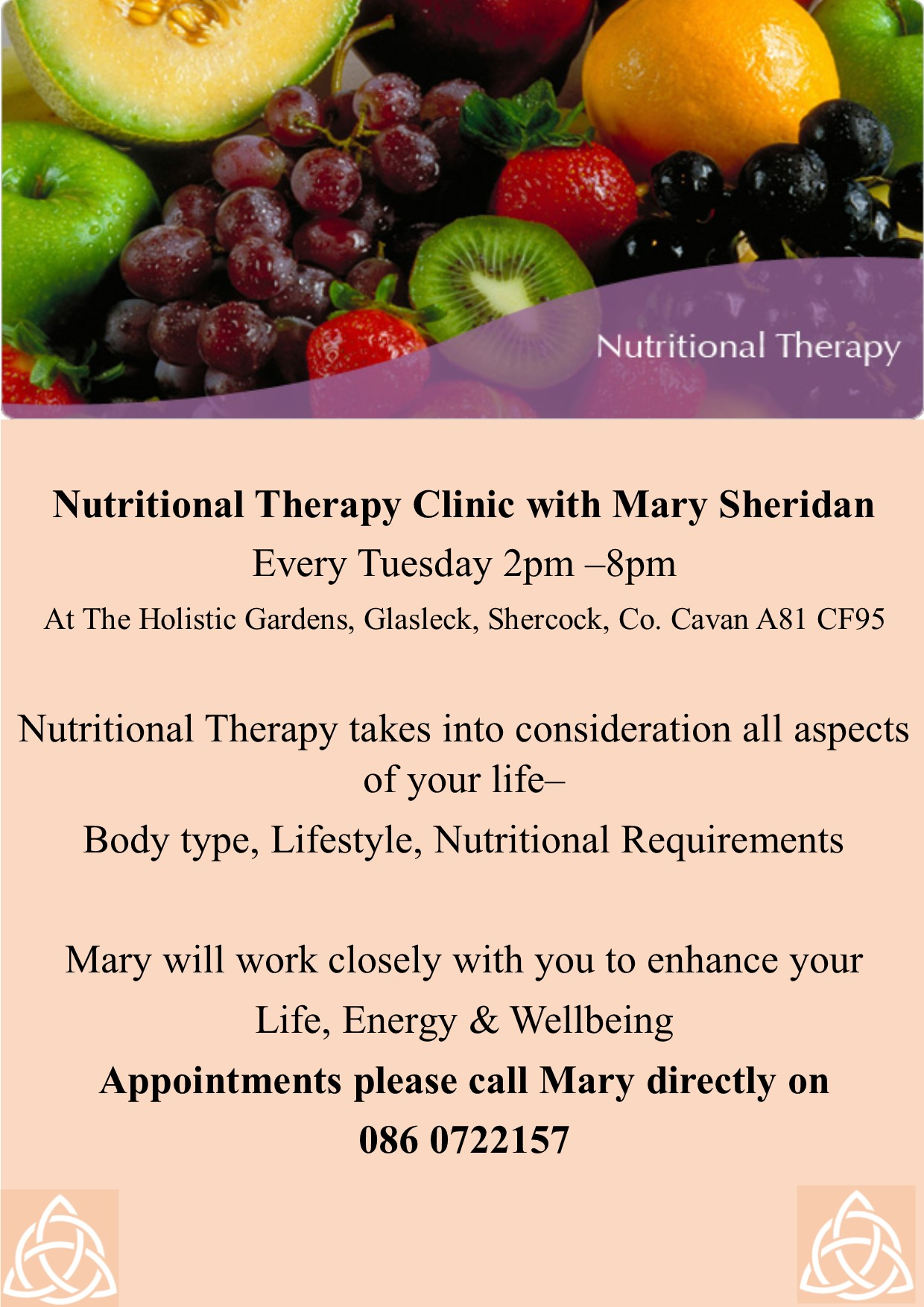 Nutritional Therapy Clinic