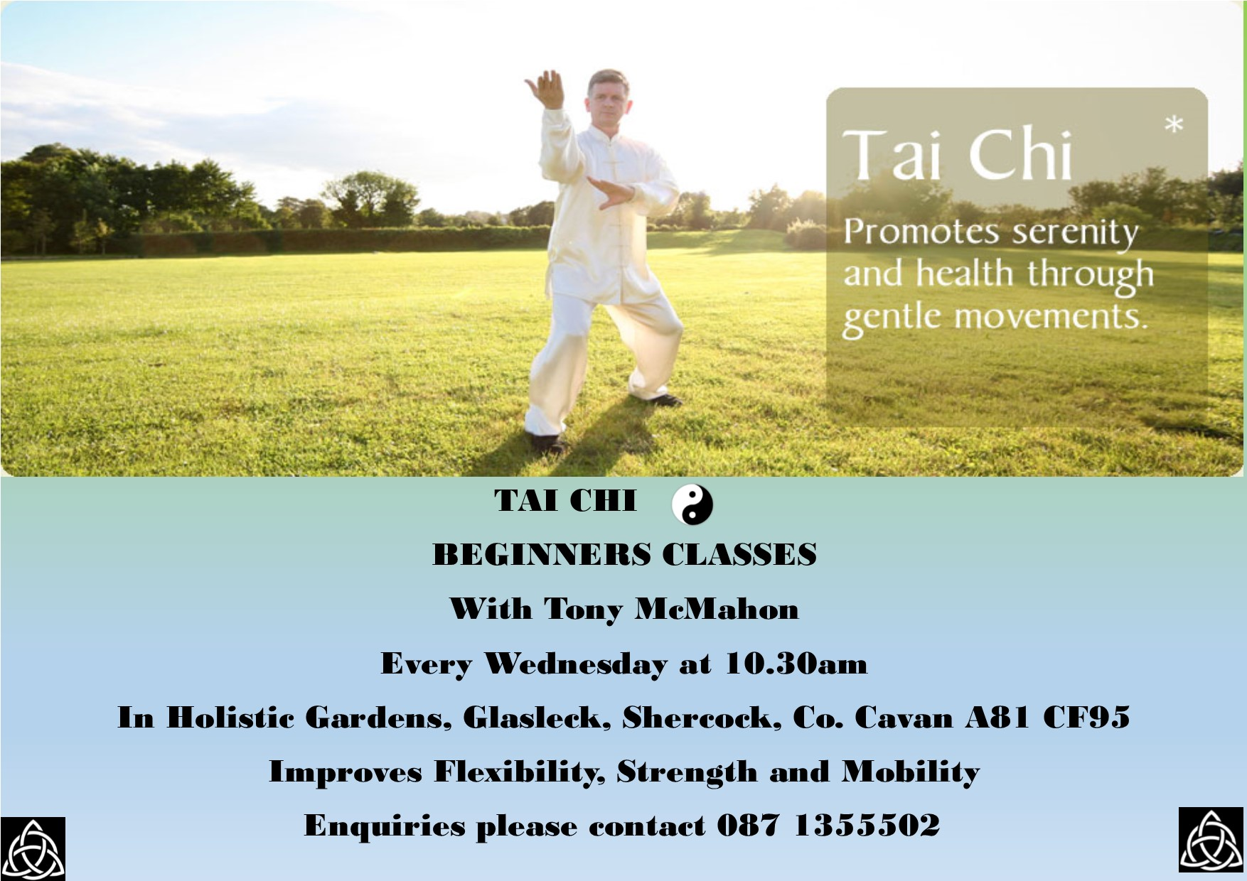 Tai Chi Beginner Classes